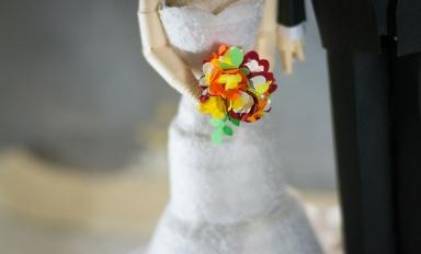 baseado no bouquet da noiva