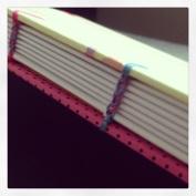 Costura caderno